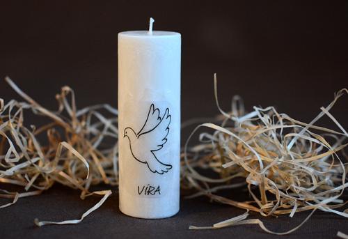 svíčka-VÍRA