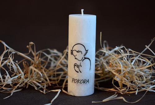 svíčka-pokora
